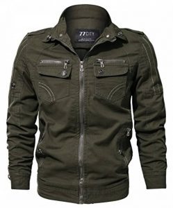 CYVVV Nouveaux Homme Printemps Automne été Coton Militaire Veste Voler Bomber Blousons Outdoor Manteaux Multi-poche Mens Cotton Lightweight Jacket de la marque CYVVV image 0 produit