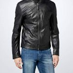 Kings on Earth Veste en Cuir avec Fermeture Éclair Homme de la marque Kings-on-Earth image 3 produit