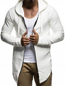 manteau long homme marron TOP 2 image 0 produit