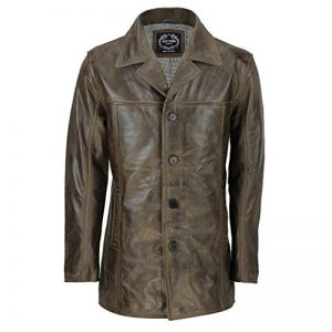 manteau long homme marron TOP 3 image 0 produit