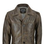 manteau long homme marron TOP 3 image 1 produit