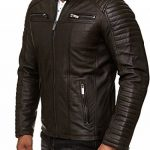 manteau long homme marron TOP 8 image 3 produit