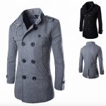 manteau mi long homme TOP 2 image 2 produit