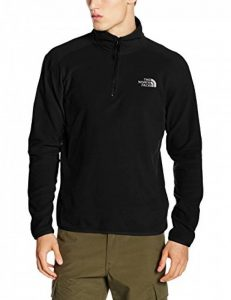 The North Face 100 Glacier 1/4 Zip Pullover Homme de la marque The-North-Face image 0 produit